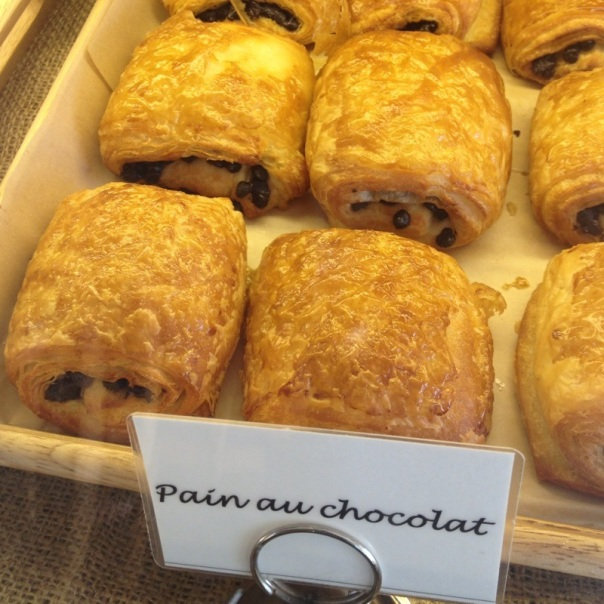 Pain au Chocolat in France. Source.